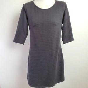 NWT Gibson Latimer Black Sweater Dress Size M